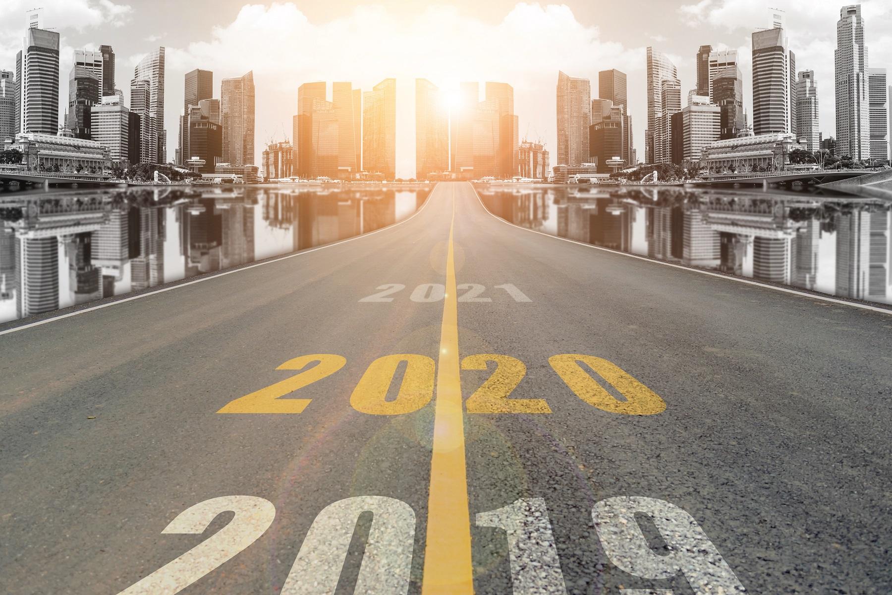 2019年から2020年へ